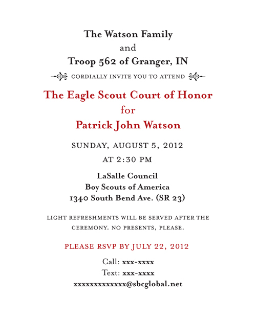 Eagle court of honor template bing images for Eagle scout powerpoint template